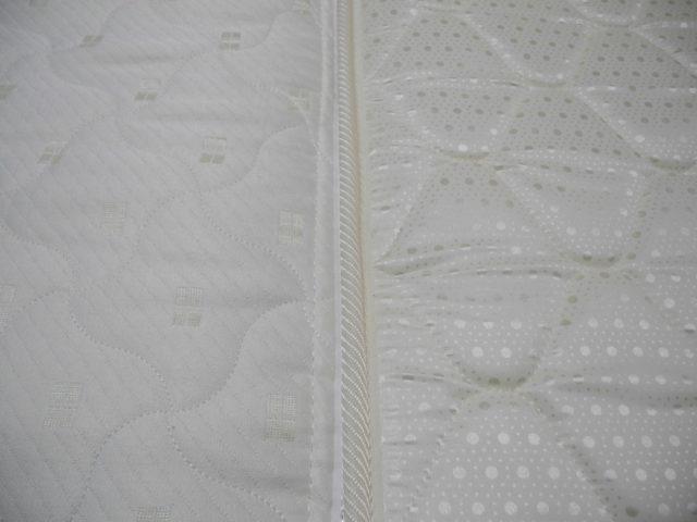 a spring mattress